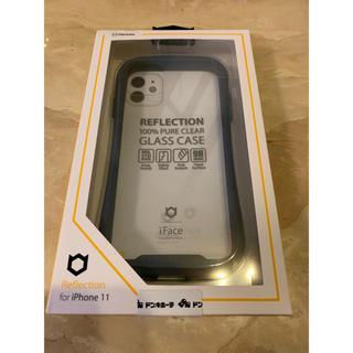 iFace リフレクション クリアネイビー iPhone 11