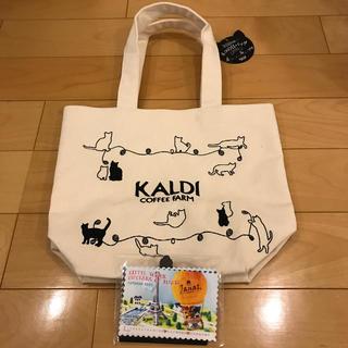 カルディ(KALDI)のカルディ  ネコの日 プレミアムバッグのみ &カレンダー(トートバッグ)