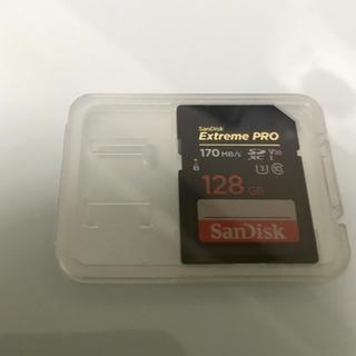 SanDisk - 128GB SDXCカード SanDisk Extreme Pro