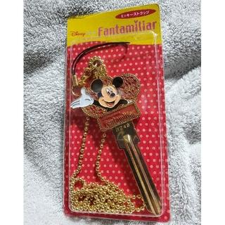 ミッキーマウス(ミッキーマウス)のファンタミリア 非売品 ミッキーストラップ(ストラップ/イヤホンジャック)