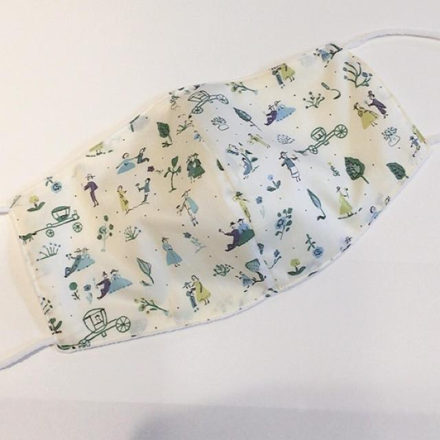リバティ♡ナノミックス生地 布マスクの通販