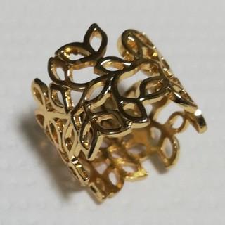 リング 金色 18号 つる草(リング(指輪))