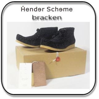 Hender Scheme - 27.5cm: エンダー スキーマ ブラッケン ワラビー 黒「5」