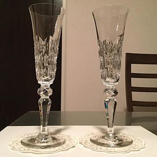 Baccarat - ☆極希少☆ アンティーク バカラ  シェドゥーヴィル シャンパン フルート 2脚