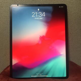 アイパッド(iPad)のipad pro12.9 64GB スペースグレイ セルラーモデル(スマートフォン本体)