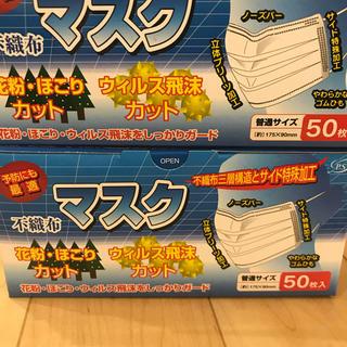 マスク 100枚 50枚入 2箱