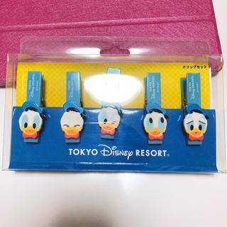 Disney - ディズニーリゾート ドナルドクリップ