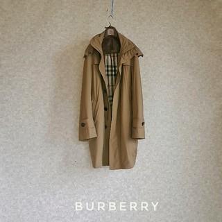BURBERRY - 超高級 バーバリーロンドン 一級品おしゃれナイロンコート 豪華バーバリーチェック