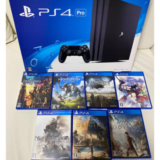 SONY - PS4 PRO 1TB ソフトセット