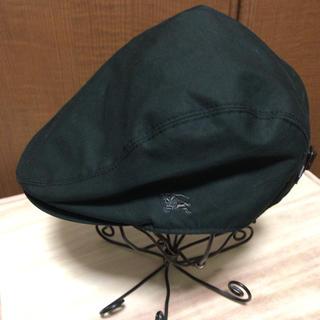 バーバリーブルーレーベル(BURBERRY BLUE LABEL)の値下げ‼︎レディースサイズ バーバリーブルーレーベルのハンチング帽(ハンチング/ベレー帽)