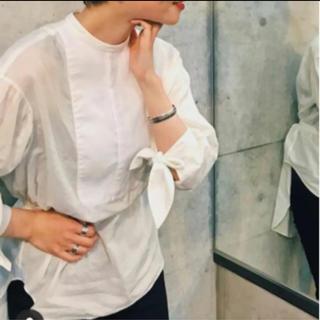 フィーニー(PHEENY)のpheeny コットンシルクドレスシャツ(シャツ/ブラウス(長袖/七分))