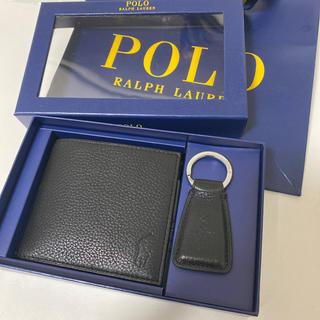 ポロラルフローレン(POLO RALPH LAUREN)のPolo Ralph Lauren 財布&キーホルダーセット(折り財布)