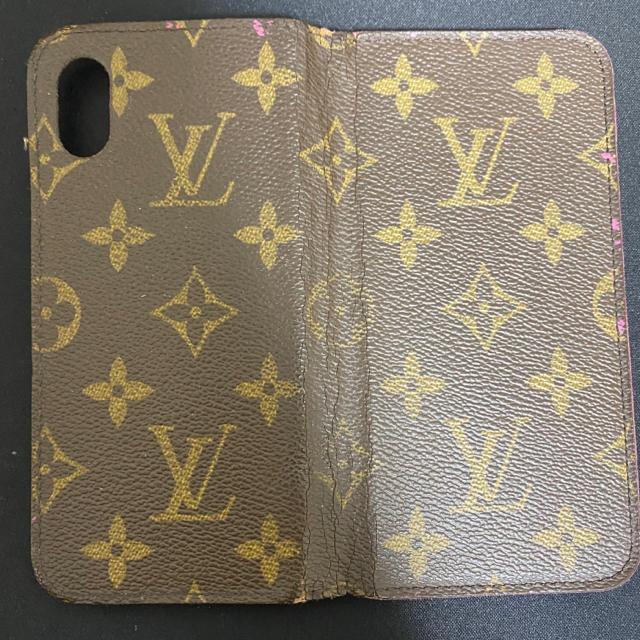 LOUIS VUITTON - 【期間限定値下げ中】VUITTON iPhoneXケース の通販