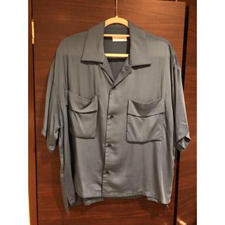アンユーズド(UNUSED)のryo takashima キュプラオープンカラーシャツ(シャツ)