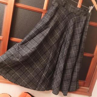 スピーガ(SPIGA)のSPIGA チェック柄スカート(ロングスカート)