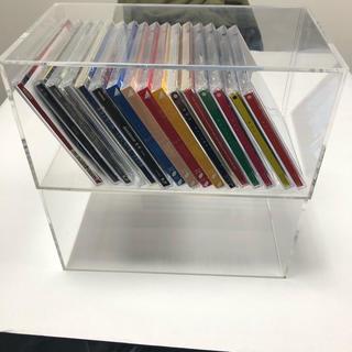 ムジルシリョウヒン(MUJI (無印良品))の無印良品 CDアクリルケース 2個セット(CD/DVD収納)
