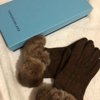 トゥモローランド(TOMORROWLAND)のtomorrow land グローブ CARIDEI  手袋(手袋)