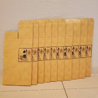 ニッカウイスキー(ニッカウヰスキー)の竹鶴 カートン 箱のみ 10枚(ウイスキー)
