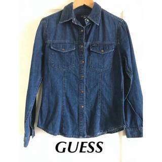ゲス(GUESS)の【GUESS】デニムシャツ デニムジャケット(シャツ/ブラウス(長袖/七分))