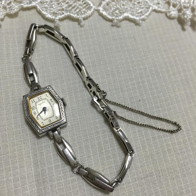 agete(アガット)のageteブレスウォッチ(正規品保証書付 レディースのファッション小物(腕時計)の商品写真