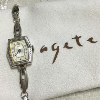 アガット(agete)のageteブレスウォッチ(正規品保証書付(腕時計)
