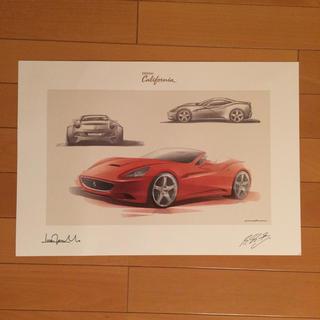 フェラーリ(Ferrari)のレア品 フェラーリ カリフォルニア リトグラフ(その他)