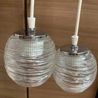 コイズミ(KOIZUMI)のコイズミ ペンダントライト2個セット(蛍光灯/電球)