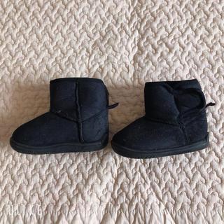 シマムラ(しまむら)のベビー 靴 ブーツ 無印良品 韓国子供服 モンミミ ユニクロ プチバトー(その他)