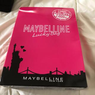 メイベリン(MAYBELLINE)のメイベリン2019年ラッキーバック(コフレ/メイクアップセット)