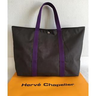 エルベシャプリエ(Herve Chapelier)の美品 エルベシャプリエ Herve Chapelier コーデュラスクエアトート(ショルダーバッグ)