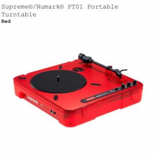 シュプリーム(Supreme)の送料無料 Supreme Numark  Poratble Turntable(ターンテーブル)