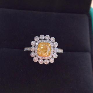 イエローダイヤモンド ダイヤモンド リング(リング(指輪))