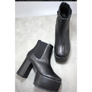 MURUA - 厚底 スクエア ブーツ SUNNY ROOM