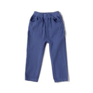プティマイン(petit main)のpetit main ツイルスキニーパンツ ブルー 130cm(パンツ/スパッツ)