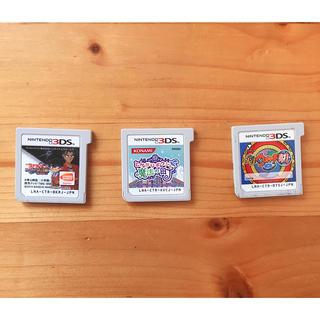 ニンテンドー3DS(ニンテンドー3DS)の3DSソフト3点セット(ゲーム)