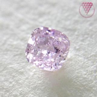 0.363 ct F. Pur - Pink 天然 ピンク ダイヤモンド(リング(指輪))