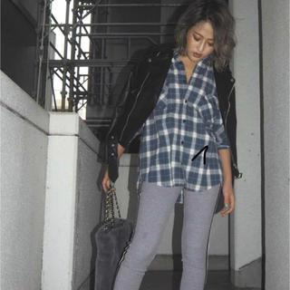 ジェイダ(GYDA)のGYDA♡チェックシャツ(シャツ/ブラウス(半袖/袖なし))