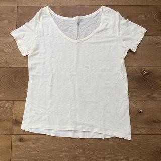 プチバトー(PETIT BATEAU)のプチバトー レディース リネンTシャツ(Tシャツ(半袖/袖なし))