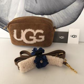 アグ(UGG)のUGG シープスキン ショルダーバッグ チェスナット(ショルダーバッグ)