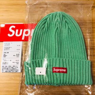 シュプリーム(Supreme)のsupreme ビーニー ニット帽 Overdyed Beanie 新品未使用(ニット帽/ビーニー)