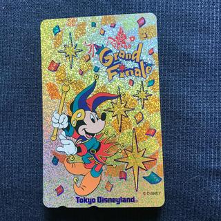 ディズニー(Disney)の東京ディズニーランドのテレカ(キャラクターグッズ)