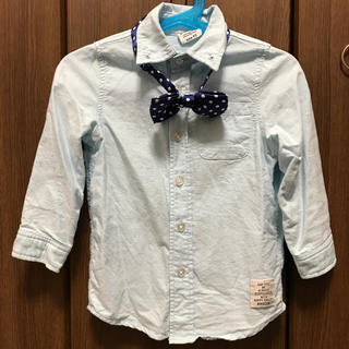 BREEZE - 蝶ネクタイ付きシャツ