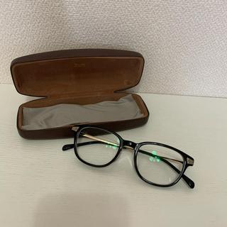 ゾフ(Zoff)のゾフ メガネ 黒縁 ウェリントン 度数あり(サングラス/メガネ)