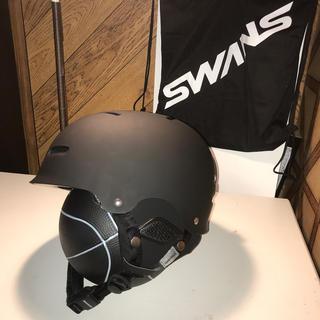 スワンズ(SWANS)のSWANSウィンタースポーツ ヘルメット⛑(ウエア/装備)