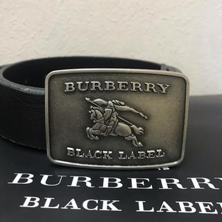 バーバリーブラックレーベル(BURBERRY BLACK LABEL)のバーバリーブラックレーベル ベルト (ベルト)