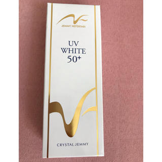 クリスタルジェミー(クリスタルジェミー)の新品 ジェミーネフェルタリ 薬用UVホワイト50+ PA++++(日焼け止め/サンオイル)