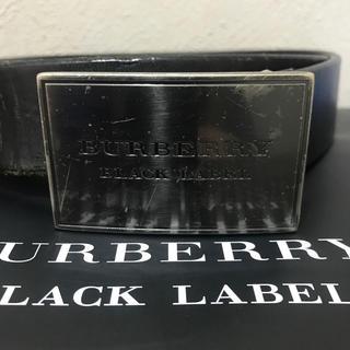 バーバリーブラックレーベル(BURBERRY BLACK LABEL)のバーバリーブラックレーベル ベルト(ベルト)