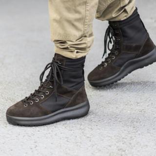 アディダス(adidas)のkanye yeezy season 3 boot コンバット ブーツ黒41(ブーツ)