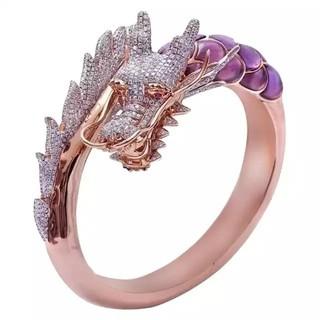 ローズピンク リング 指輪 フリーサイズ(リング(指輪))