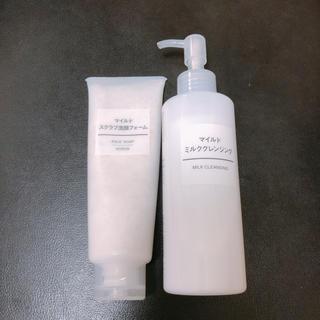 ムジルシリョウヒン(MUJI (無印良品))の無印良品 洗顔&クレンジング(洗顔料)